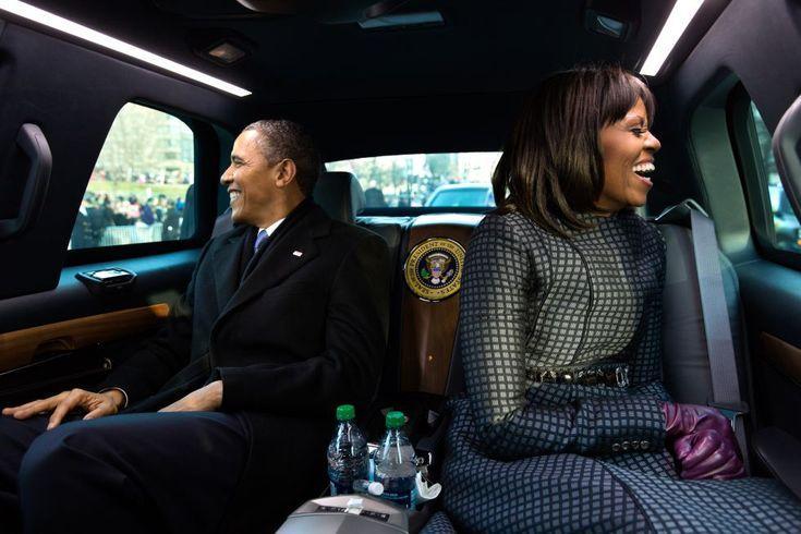 Las fotos del año 2013: Enero | Washington DC, EE. UU., 21 de enero de 2013. El presidente Barack Obama y su mujer Michelle se dirigen al desfile inaugural de su segundo mandato en Washington D. C. En su discurso de investidura, Obama lanzó un mensaje de optimismo en que defendió la igualdad de oportunidades y arremetió contra las discriminaciones sociales, situando así su segundo mandato en el rumbo de la paz y de la justicia social. | Foto: Casa Blanca.