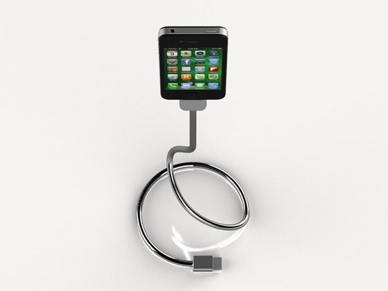 Fancy - Une Bobine Flexible Charger: Ipad Iphone Accessories, Hello Bobs, Bobin Iphone, Flexibility Iphone, Combos Iphone, Chargers Stands, Iphone Gadgets, Cool Ideas, Iphone Chargers Sculpture