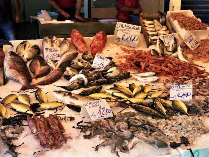 Ballarò Market - Palermo - Sicily - Italy. Il Giardino di Ballarò B&B. #top #fresh #fish