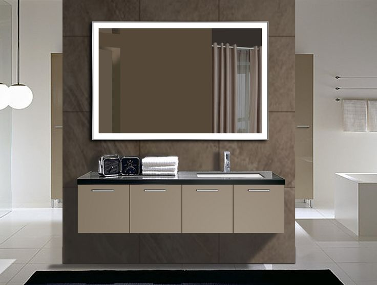 Contemporary Art Sites Dimmable Lighted mirror Galaxy X