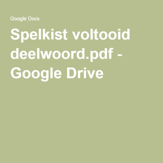 Spelkist voltooid deelwoord.pdf - Google Drive
