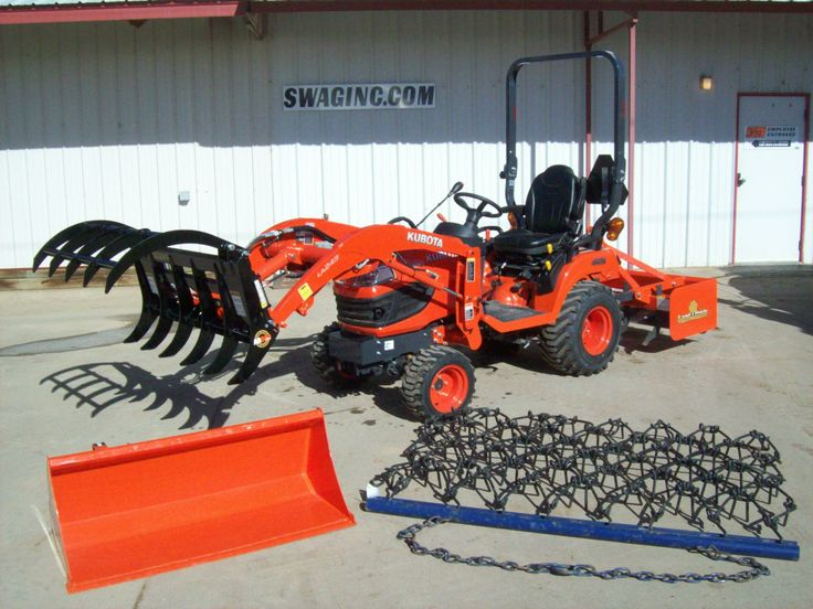 25 Best Kubota Tractor Accessories Amp Attachments Images On
