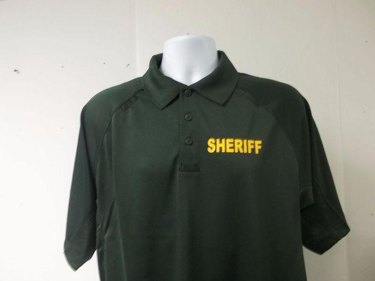 American Reflective Call us: 781-848-1235 Email: AmericanReflective@gmail.com  WE DO CUSTOM EVERYTHING!!! Check out our ebay store: http://www.ebay.com/itm/Sheriff-Deputy-Polo-Shirt-/361514750805?var=&hash=item92e4aea281  #sheriff #polo #workshirt #work #uniform #custom