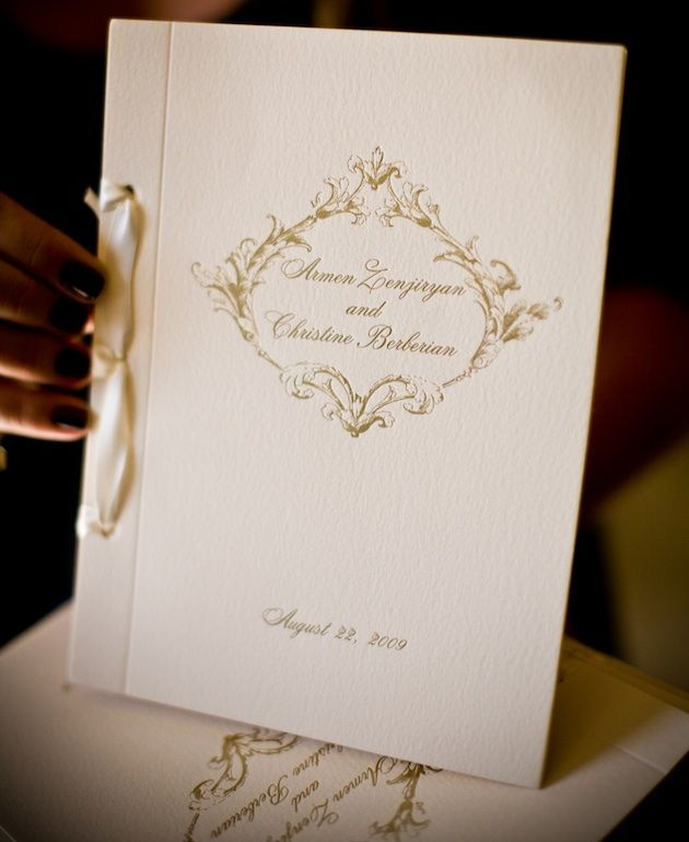 Best 25 Diy Wedding Programs Ideas On Pinterest