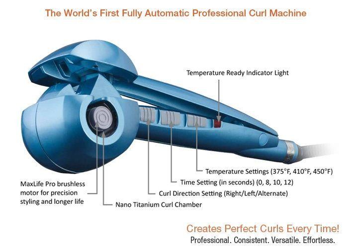 Babyliss Pro MiraCurl Nano Titanium Curl Machine