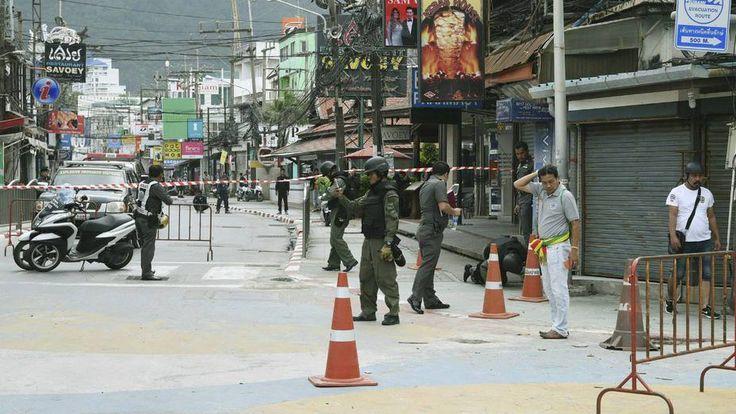 Tailandia en medio de bombas en zonas turísticas