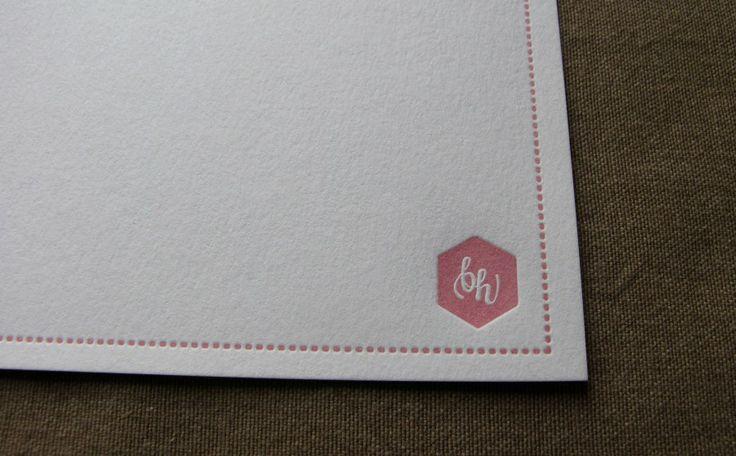 #letterpress #notecards