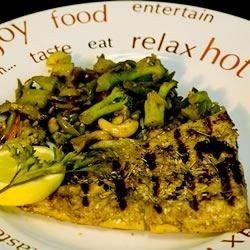 Grilled Fish Steaks Recipe - Allrecipes.com