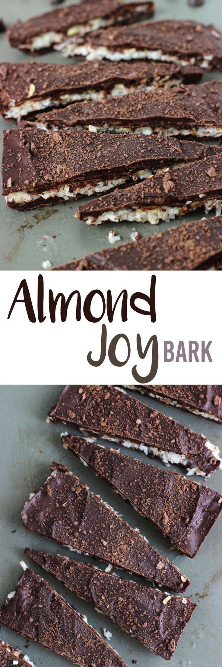 Almond Joy Bark - a no-bake bark that tastes like the candy favorite! mysequinedlife.com
