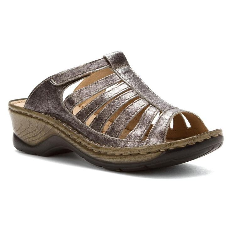 Josef Seibel Women's Claudia Sandals in Basalt - Caught these in a  Dillard's sale. Omigosh
