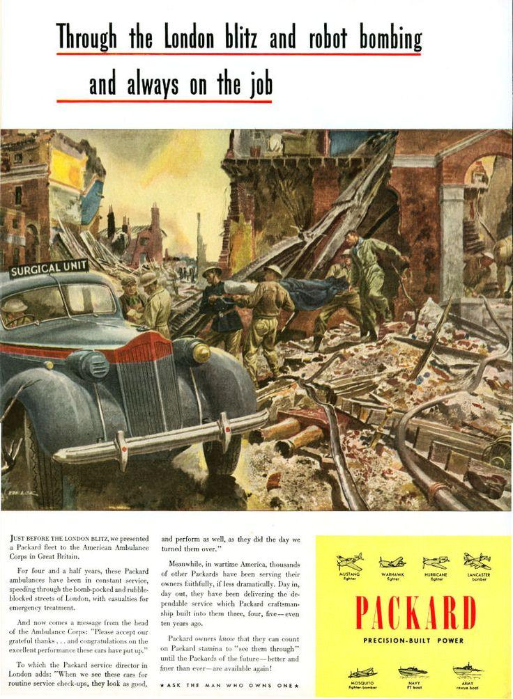 19 best World War II Packard Ads images on Pinterest | War, Book ...
