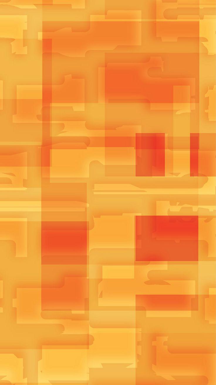 Iphone su damlas duvar ka d - Square World Pattern Orange Yellow Iphone 6 Plus Wallpaper