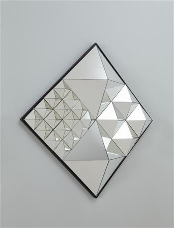 "VERNER PANTON  ""Diamond Pyramid"" mirror: Vernerpanton Diamond, Inspiration, Diamonds, Mirror Model, Pyramid Mirror, Diamond Pyramid, Design"