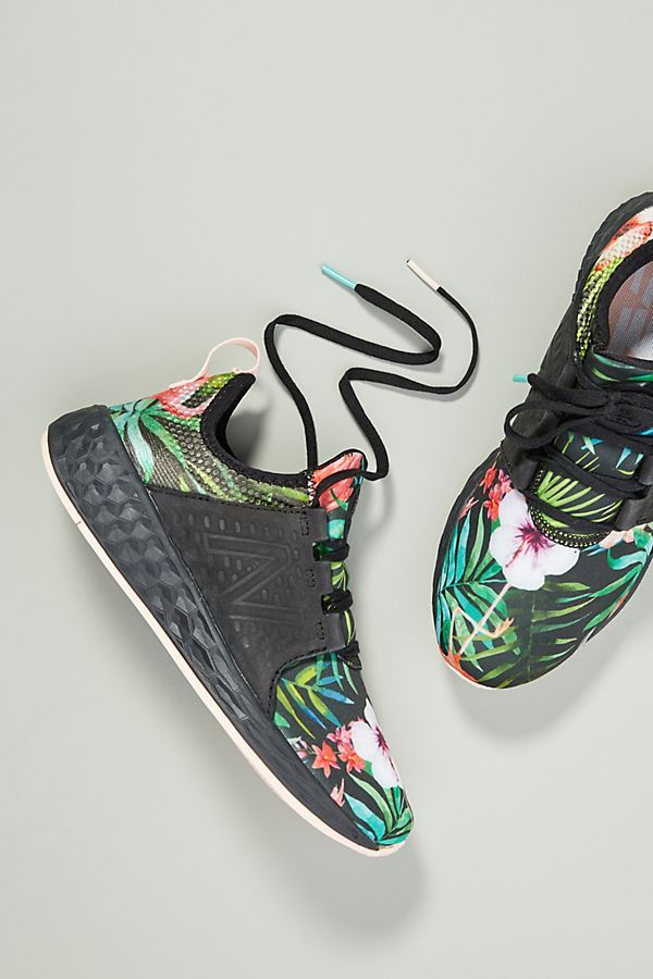 new product 43e45 bbfe3 New Balance Floral Cruz Sneakers  women  shoes  floral  sneakers
