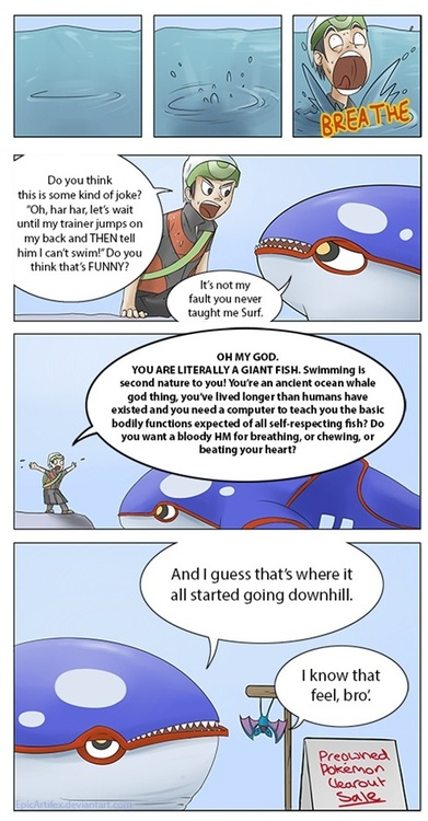 Oh but Kyogre's my other Pokebro apart from Blaziken...