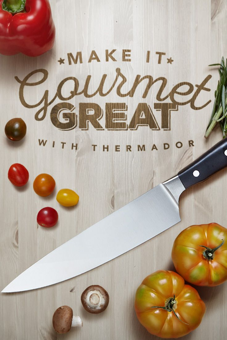 I just entered the Make it Gourmet Great contest to win an amazing set of WÜSTHOF knives!