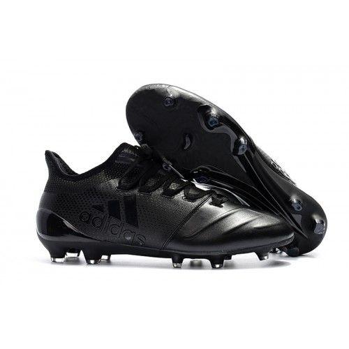 innovative design 75b2a 2c302 Botas De Futbol 2018 adidas X 17.1 leather FG Negras
