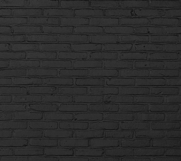 'Black Brick' wallpaper by Piet Hein Eek for NLXL