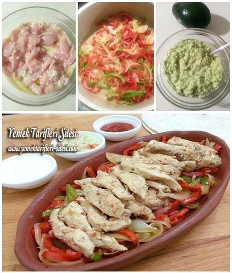 Tavuk Fajita Tarifi | Yemek Tarifleri Sitesi - Oktay Usta - Harika ve Nefis Yemek Tarifleri