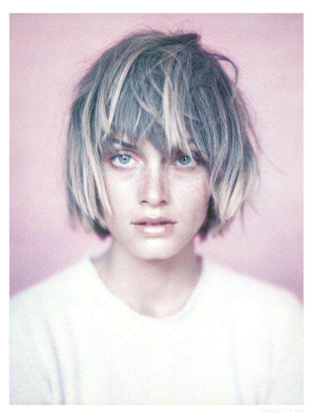 .: Paoloroversi, Hair Colors, Ambervalletta, Paolo Roversi, Messy Hair, Shorts Hair, Hair Cut, Shorthair, Amber Valletta