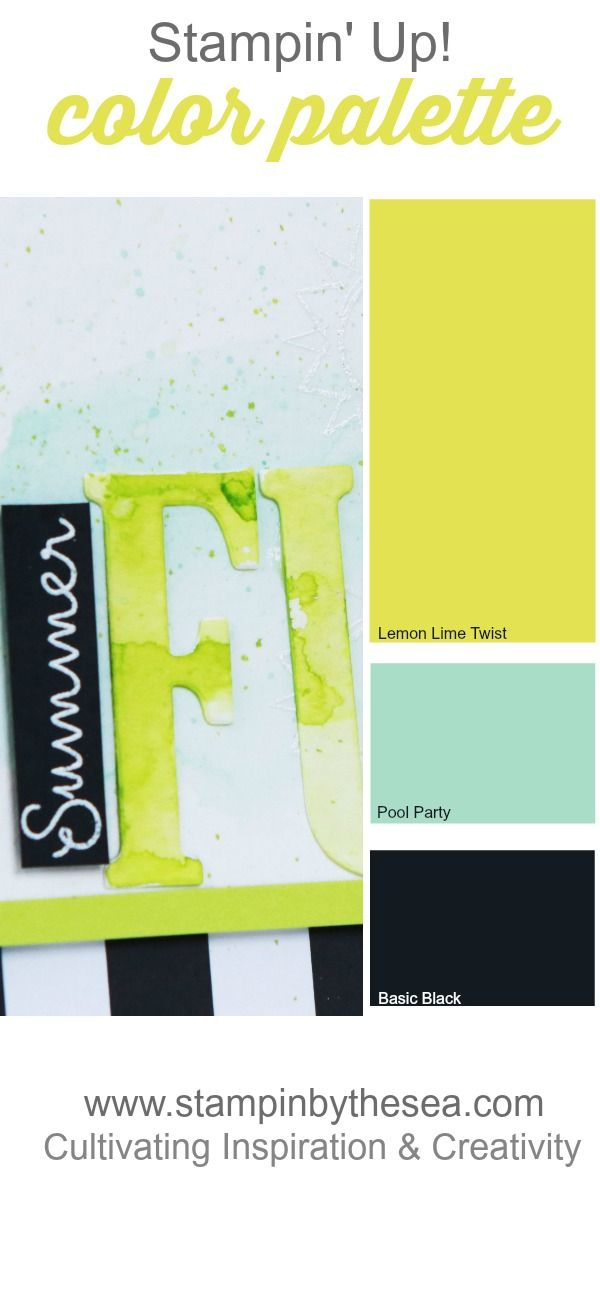 Fun color combination for summer.