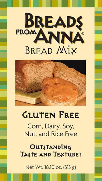 OMG!  SOOO Delicious!  & Allergen Free!  Delicious rice product alternative (very important for us GF people)!! (Breads from Anna — Gluten, Corn, Dairy, Soy, Nut & Rice Free Bread Mix)