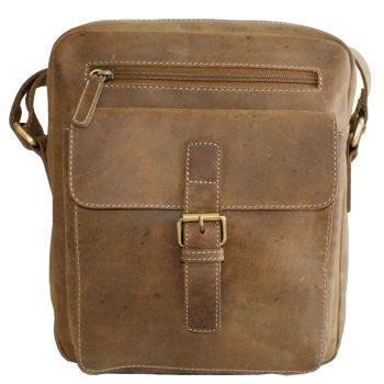 The Canada Leathers Collection - Messenger Bag - special designed for your iPad - style Adrian Klis 2705