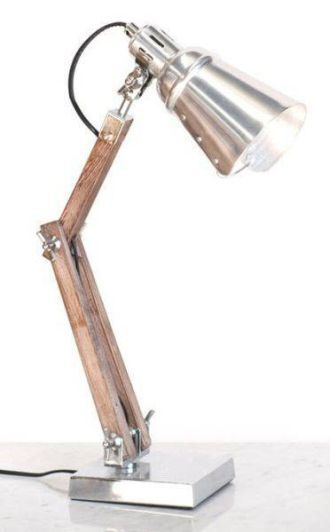 AUSSIE DESIGNED LAMP CHROME