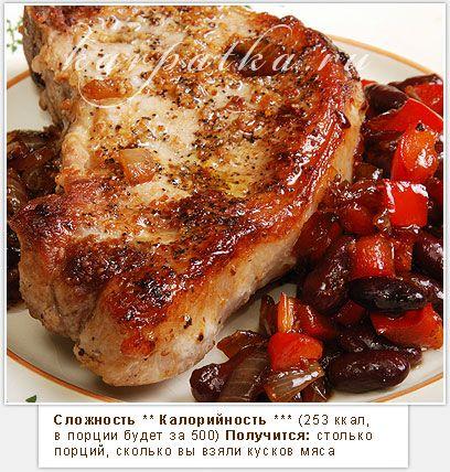 Рецепт свинина жареная в духовке