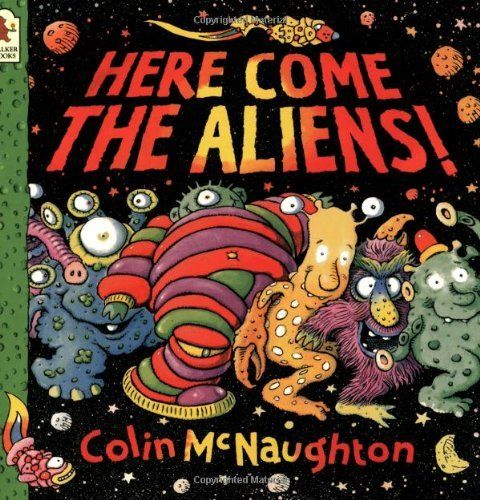 Here Come the Aliens! by Colin McNaughton, http://www.amazon.com/dp/0744543940/ref=cm_sw_r_pi_dp_rrrusb1P102EG