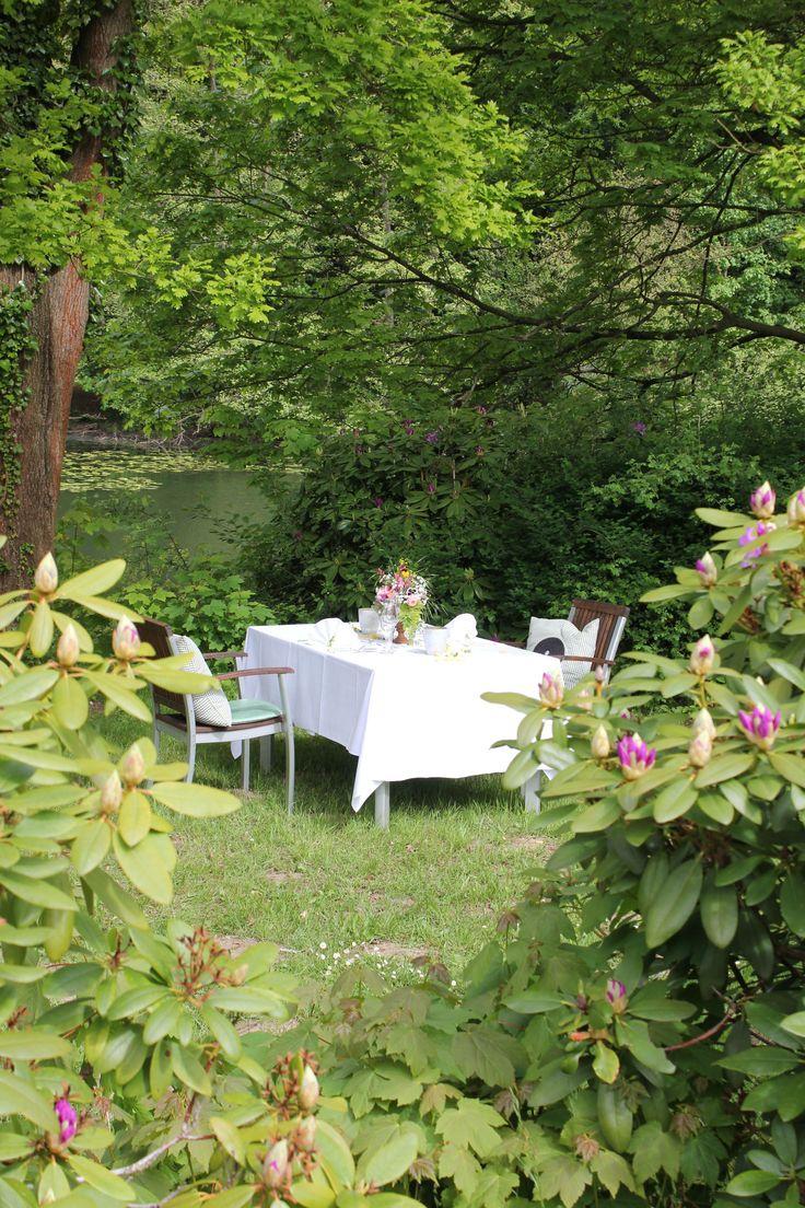 Dinner am See im Hotel Waldesruh am See in Aumühle