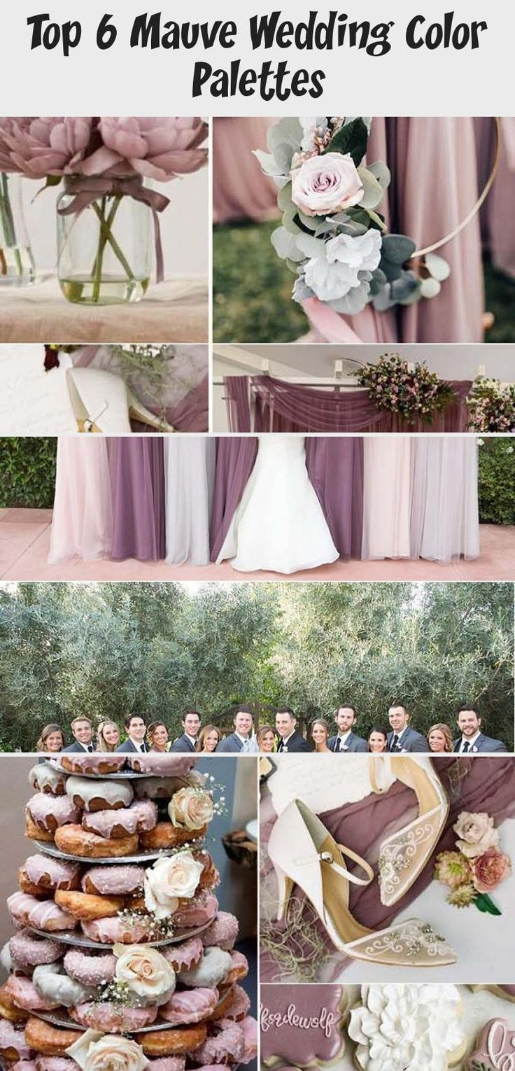 It's not Pantone's color of the year, but Mauve is definitely the lovely and stylish one in the whole purple family. It's more gentle and warm paired with plum, which makes it suitable for almost any wedding theme in any season. With the under... #BridesmaidDresses2019 #BridesmaidDressesMint #BridesmaidDressesPlusSize #BlackBridesmaidDresses #BridesmaidDressesPastel