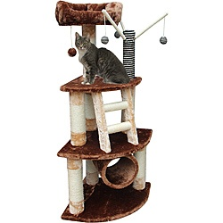 kitty mansions athens cat tree brownbeige check this awesome product by going to the link at the image