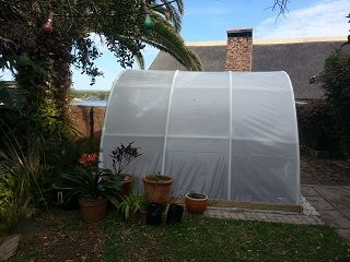 Eco-Tunnels 3m. Easy to assemble #DIY #greenhouse tunnels for home use
