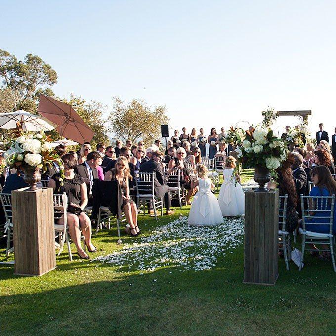 A Summer Country Club Wedding In Santa Barbara, California