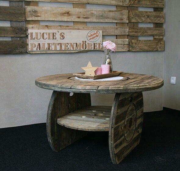 50 best lucies palettenm bel images on pinterest chairs - Tisch kabeltrommel ...