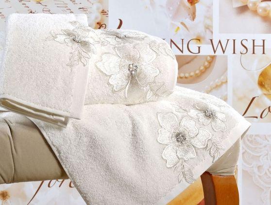 Luksusowy ręcznik Pearly 50x90 cm