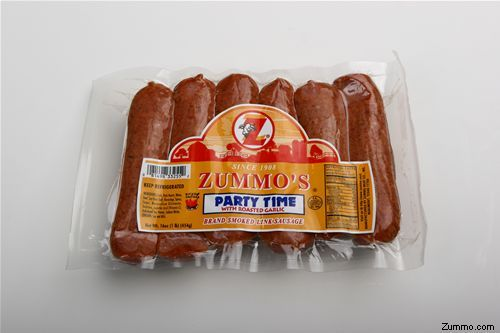 I LOVE ZUMMO SAUSAGES!!!  THESE ARE THEE BEST SAUSAGES EVER!! IF YOU HAVE NEVER HAD ONE YOU HAVE TO TRY ONE!!! ALL CAPS IS SO NECESSARY WHEN TALKING ABOUT ZUMMOS!!!