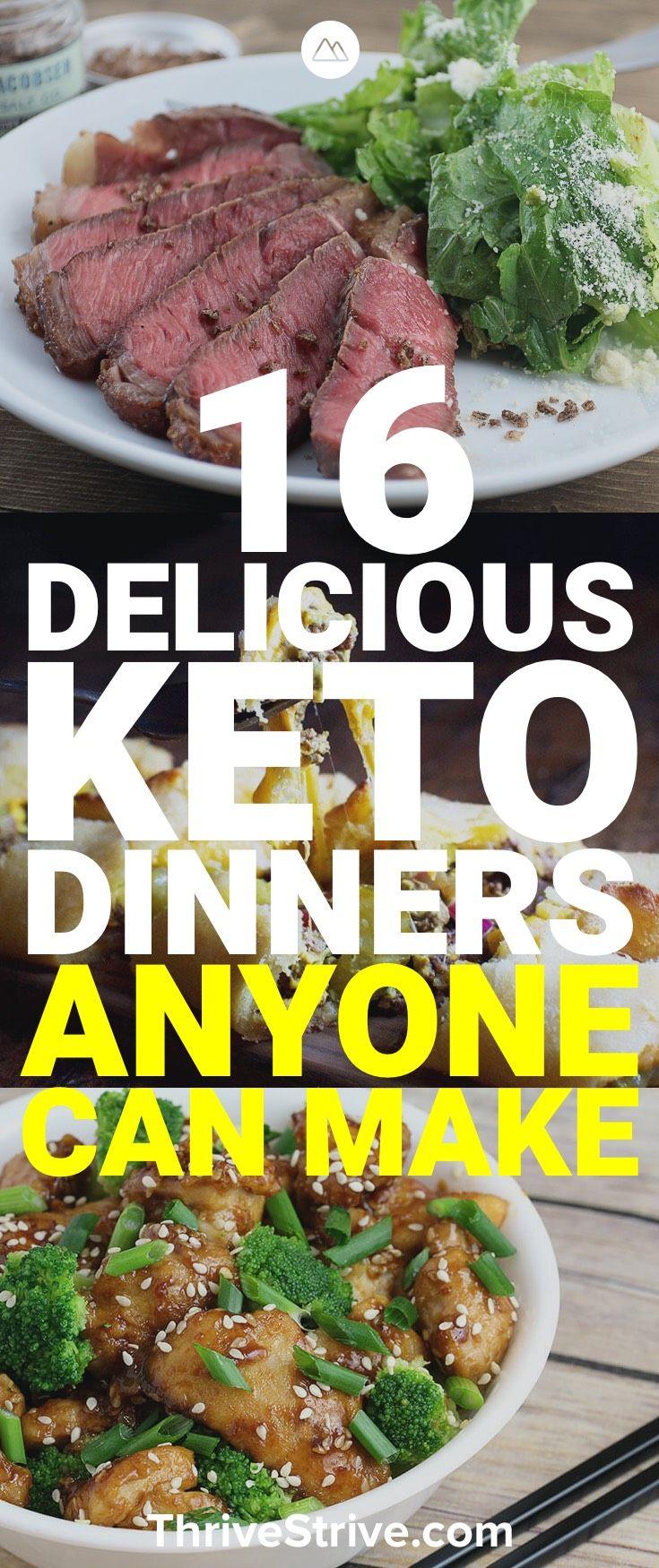 Suchen Sie nach Ketodiners, die Sie leicht zubereiten können? Hier sind 16 großartige …