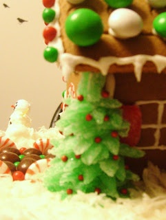 Simple Savory & Satisfying: Gingerbread House Decoration Ideas