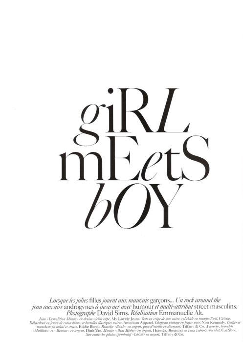 typographyFashion Editorial