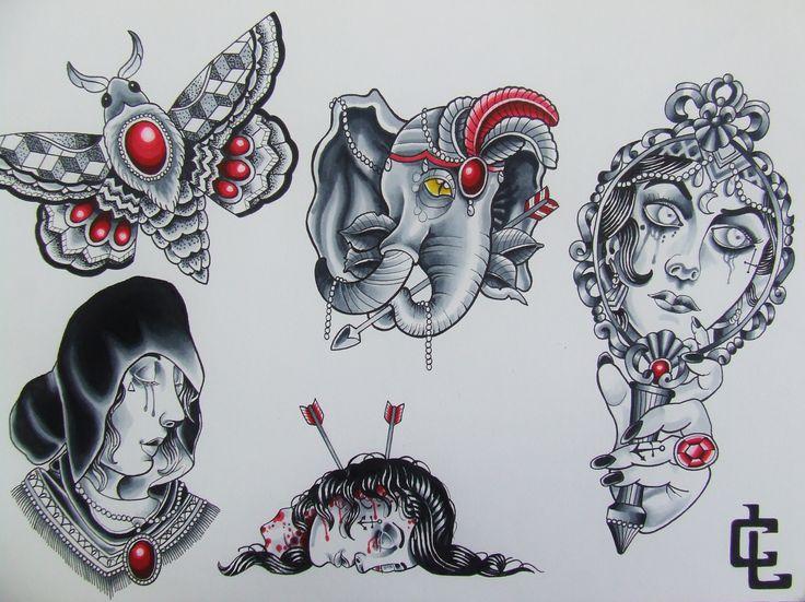 gypsy flash- curtis lawson art