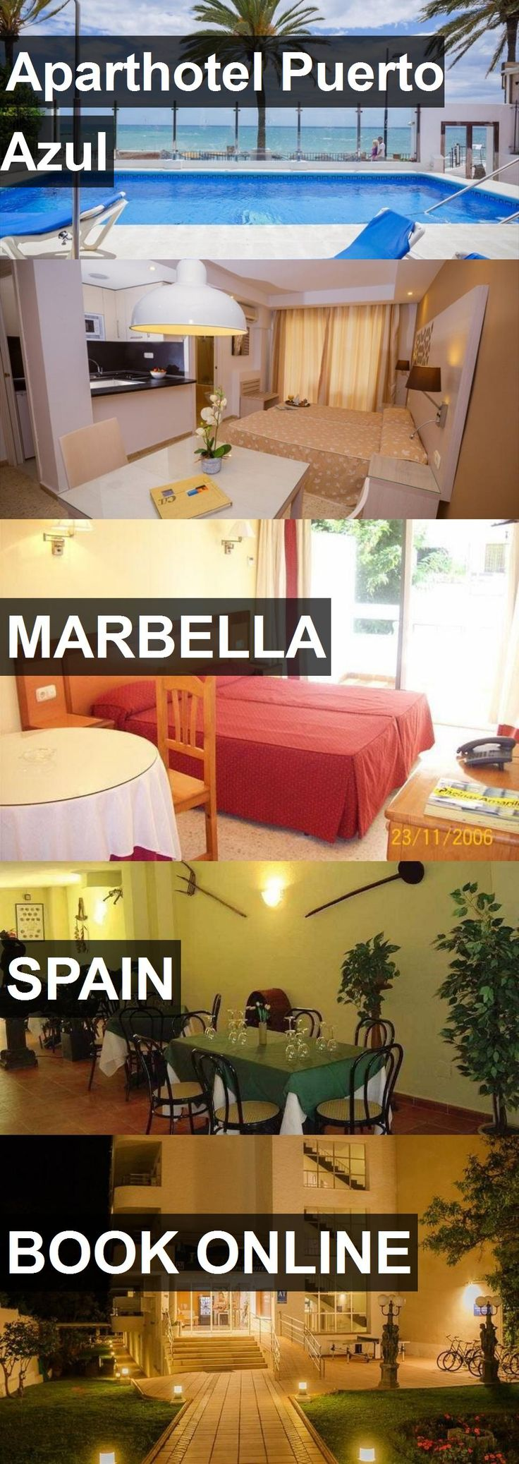 Aparthotel Puerto Azul in Marbella, Spain. For more information, photos, reviews and best prices please follow the link. #Spain #Marbella #travel #vacation #hotel