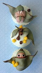 Gumnut babies cup cake decorating ideas