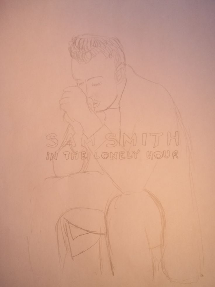 Sam Smith drawing