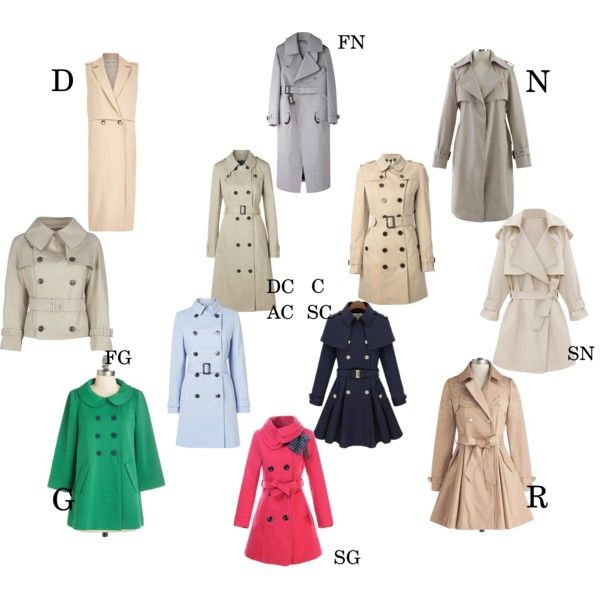 Essential trench coat by Kibbe type by moara on Polyvore featuring moda, Bea…