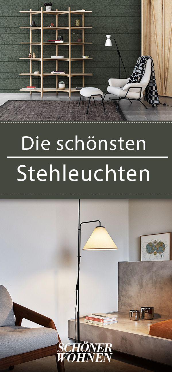Moderne Stehlampen mit schönem Design | Leuchten | Wohnzimmer ...