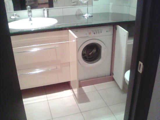washing machine in bathroom - Google Search