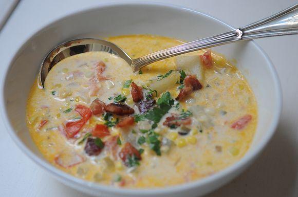 Summer Corn Chowder, a recipe on Food52