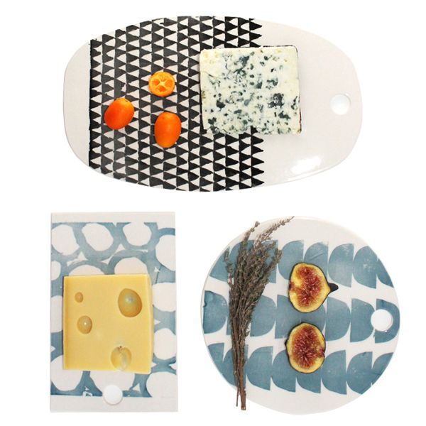Graphic Cheese Plates, www.babasouk.ca